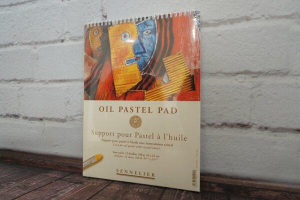 Ölpastellblock mit Spiralbindung - Künstlerbedarf