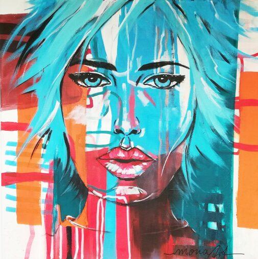 Portrait Acryl - Kunstkurse